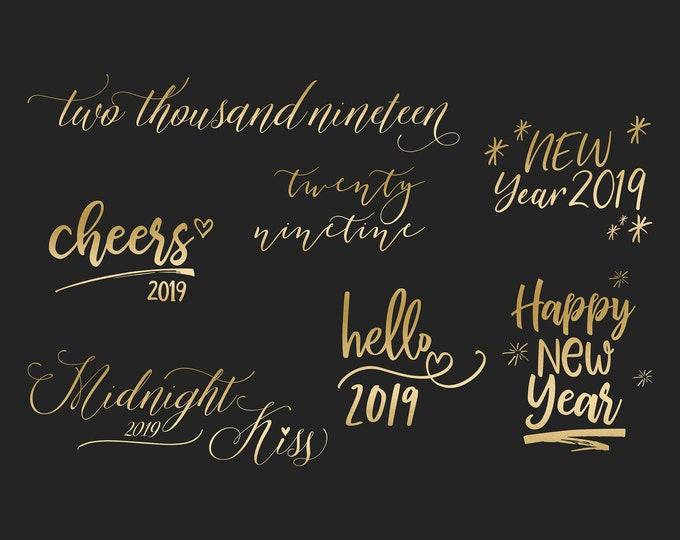 2019 New Year's Overlays