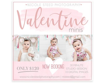 Valentine Instagram Ad Template