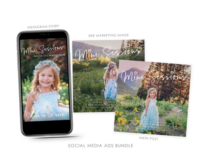 Mini Session Instagram Template