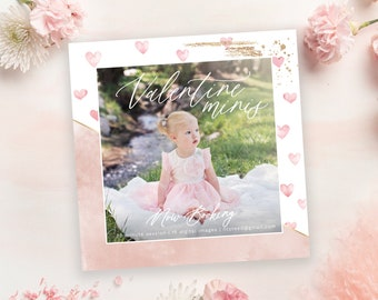 Valentine Mini Session | Valentine Minis | Photography Marketing Ad | Instagram Ad Template | Digital Design |  Mini Session Template