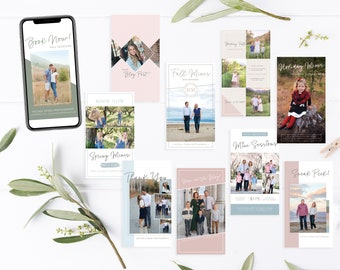 Instagram Stories Template | Social Media Templates | Instagram Story Template | Photography Instagram Ad | Photoshop Template
