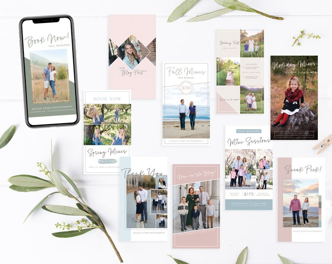 Instagram Stories Template   Social Media Templates   Instagram Story Template   Photography Instagram Ad   Photoshop Template