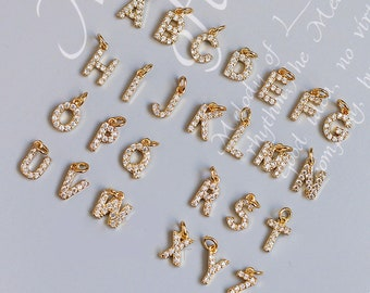 Stainless Steel Silver Tone Alphabet Initial Letter Tiny Earring Studs With Cubic Zirconia 3mm Set Letters A-Z