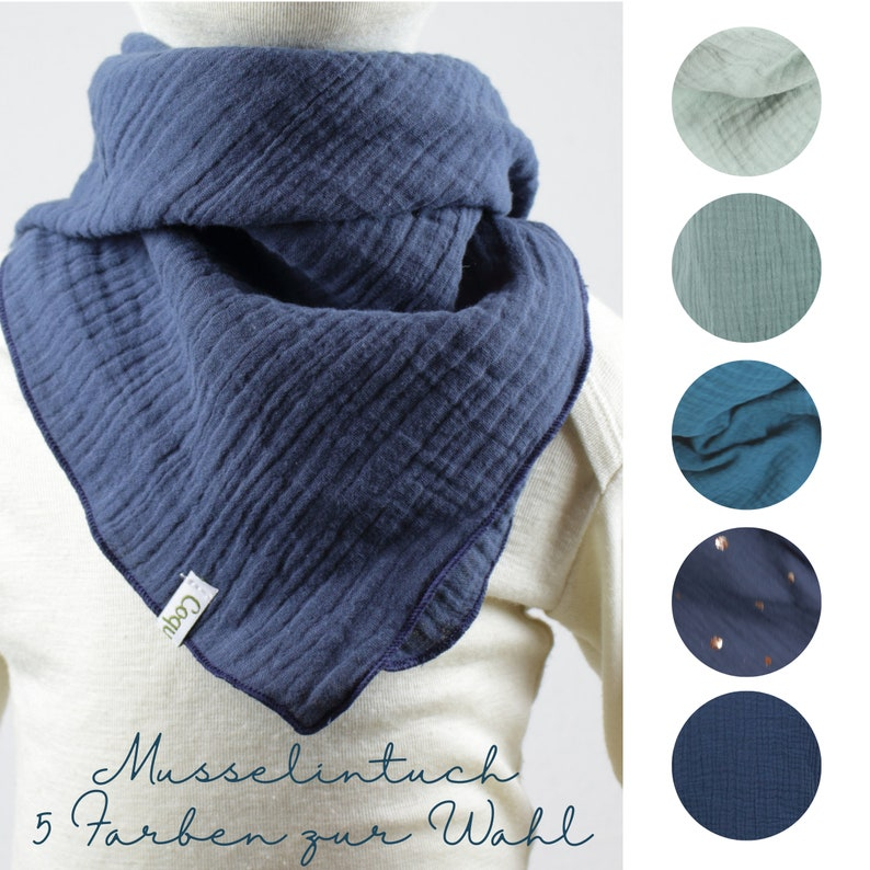 Cloth in muslin/ muslin cloth five colours to choose from image 0
