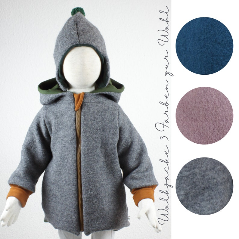 Walk jacket completely lined three colors to choose from image 0