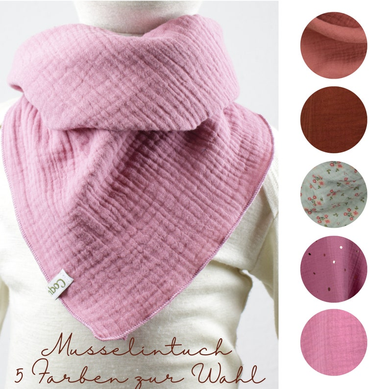 Cloth in muslin/ muslin cloth five colors to choose from image 0