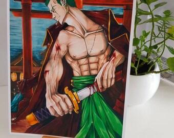 One Piece Fanart Etsy