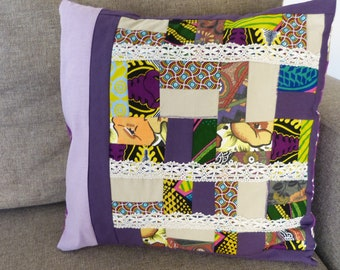 Fantastic  patchwork cushion