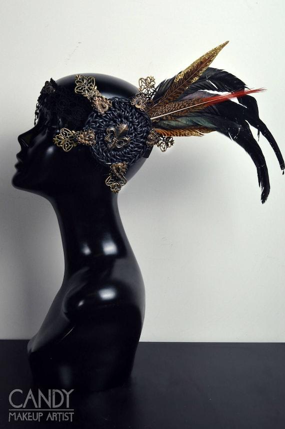 Bronze Toned Festival Headdress by Etsy