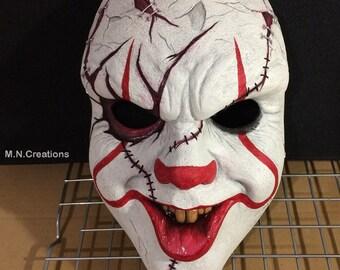Pennywise & Chucky Clown Mask Resin Horror Stephen King Bill Skarsgard