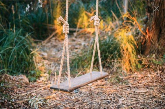 Schommel In Huis : Buiten boom schommel rope swing rustieke bruiloft decor etsy