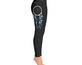 Blue Dream catcher Leggings