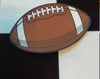 5 Pack of Color Cardstock Football
