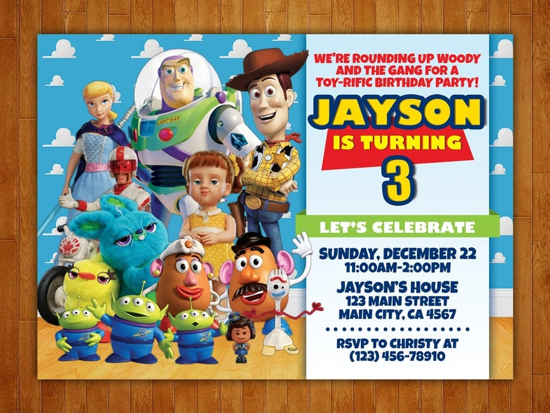 graphic about Free Printable Toy Story Invitations known as Toy Tale Birthday Invitation, Toy Tale Invitation, Toy Tale Social gathering, Toy Tale Printables, Toy Tale Customized, No cost 4x6 Thank Yourself Card