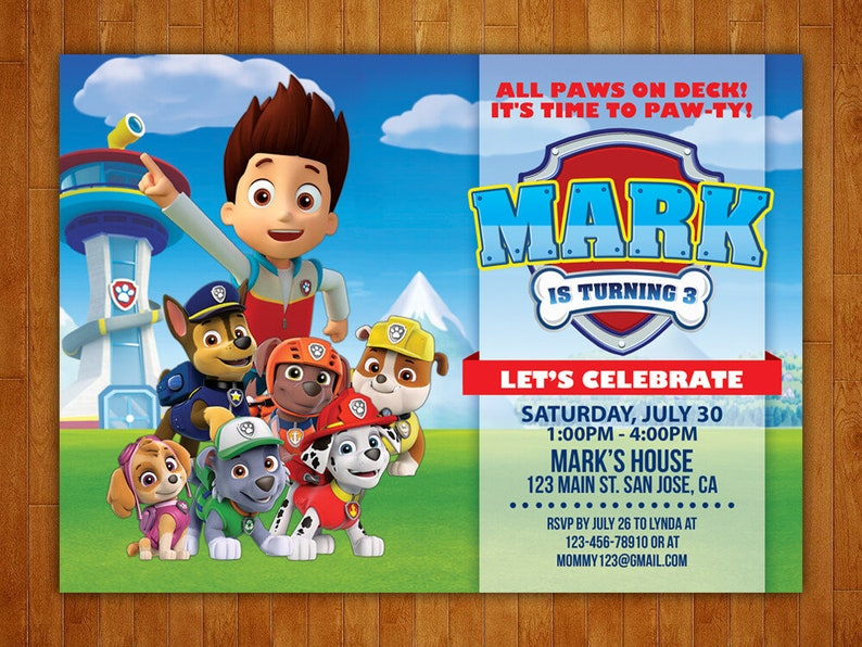 picture regarding Free Printable Paw Patrol Invitations identified as Paw Patrol Birthday Invitation, Paw Patrol Invitation, Paw Patrol Celebration, Paw Patrol Printables, Paw Patrol Custom-made, No cost Thank On your own Card