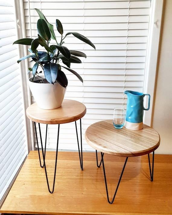 Kleine Side Table.Ollie Side Table Koffietafel Kleine Tafel Plant Stand Geneste Tabellen Haarspeld Been Tabel Houten Tafel Metalen Tabel Geneste Tabel