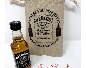 ace3e16d72f393 Because You Deserve It and It s All I Can Afford - Jack Daniel s Miniature  Bottle Gift Bag