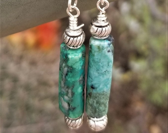 65-Turquoise Earrings