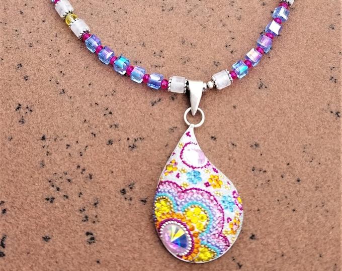 """25"""" Swarovsky Crystal Necklace"""