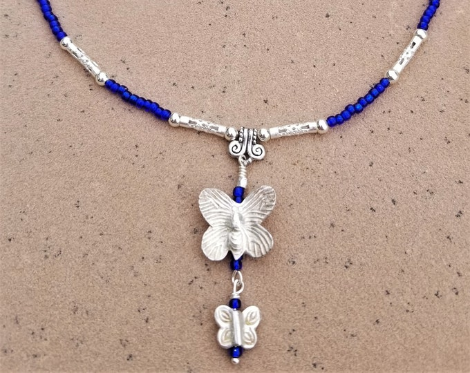 "20"" Butterfly Necklace"