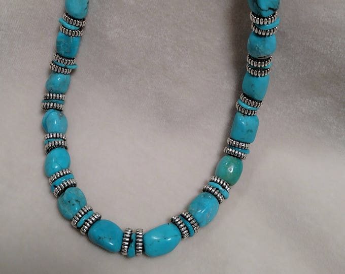 "Kingman Turquoise 19"" Necklace"