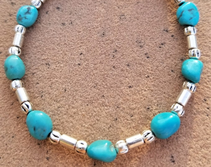 "8"" Sleeping Beauty Turquoise Bracelet"