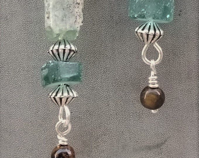 "2"" Sea Glass Earrings"