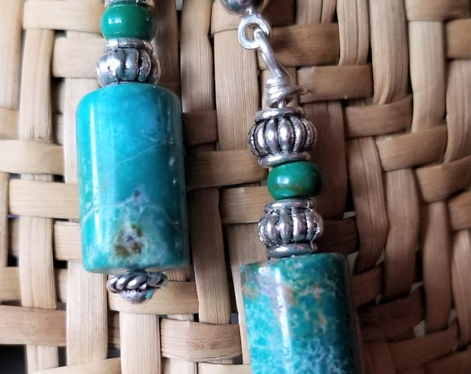 64-Turquoise Earrings