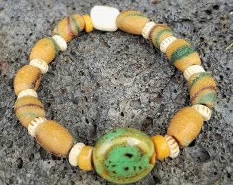 E-African Tradewind Beaded Bracelet