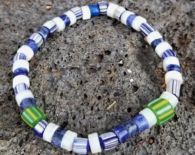 H-African Tradewind Beaded Bracelet