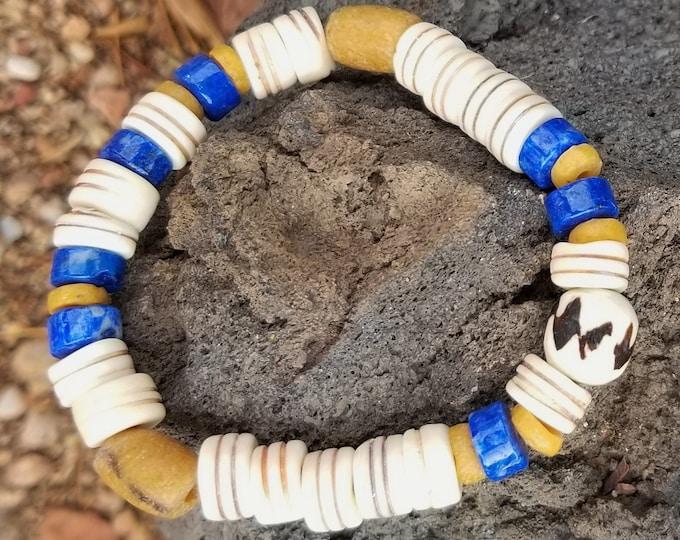 A-Tradewind African Beaded Bracelet