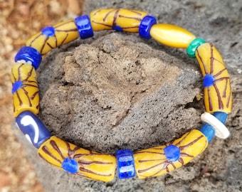 B-Tradewind African Beaded Bracelet