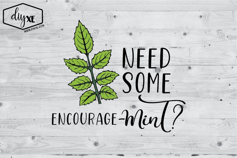 Need Some Encourage-mint?