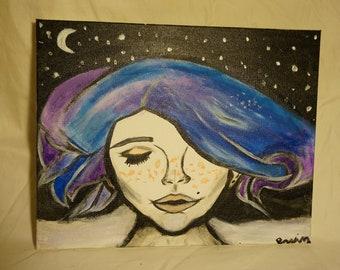Galaxy Dame (Acrylic)
