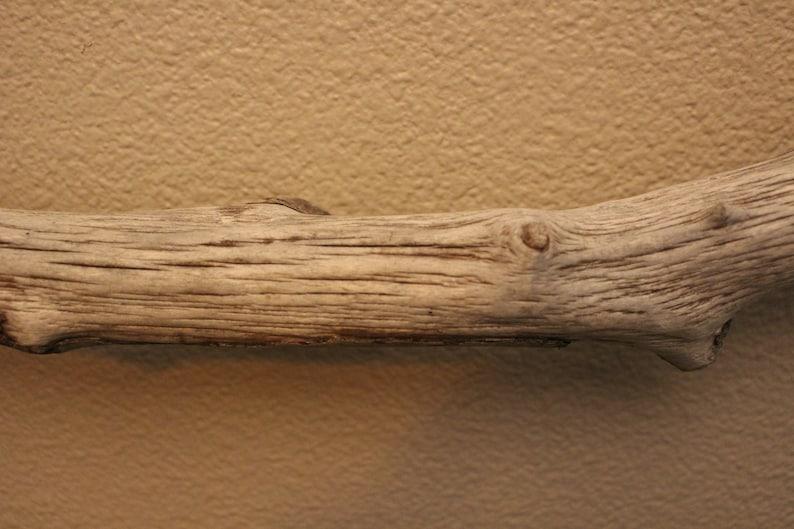 1 Beautiful Large Rustic Prime Macrame Driftwood Stick 53 14 and 1 12 Diameter #1550