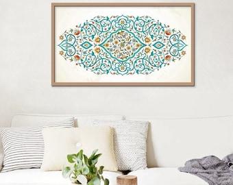 Islamic Wall Art Geometric Arabic Large Ramadan Eid Mubarak