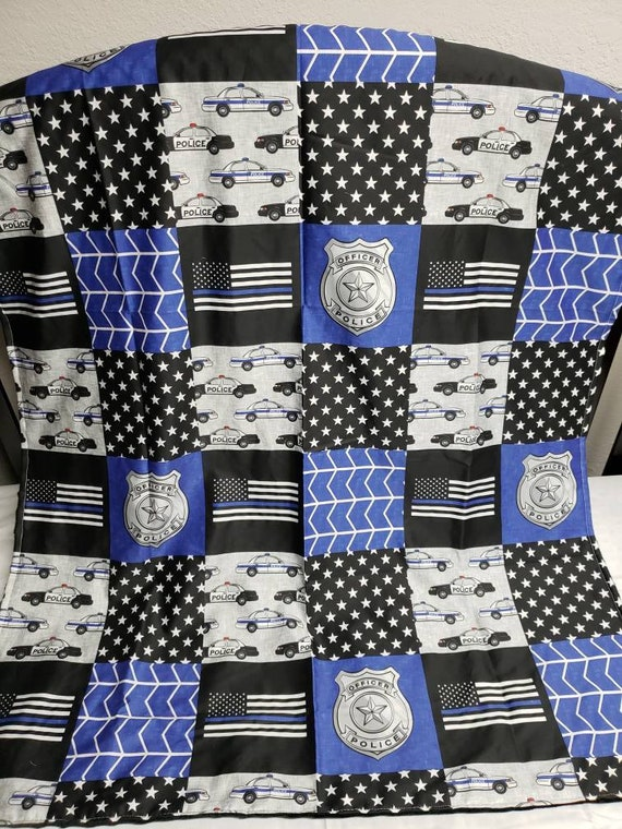 Police Blanket Baby, Police Baby Bedding
