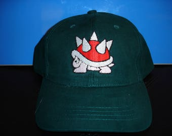 spiky shell hat