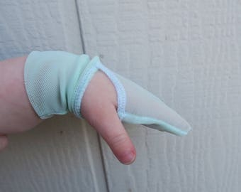 Thumb Sucker No-Scratch/Eczema Mesh Mittens ALL COLORS (baby/toddler/child)