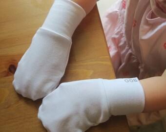 Cotton No-Scratch/Eczema Mittens (baby/toddler/child/adult)