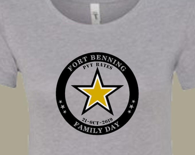 BCT Family Day shirt | Boot Camp graduation shirt | Army shirt | Military shirt | Customize