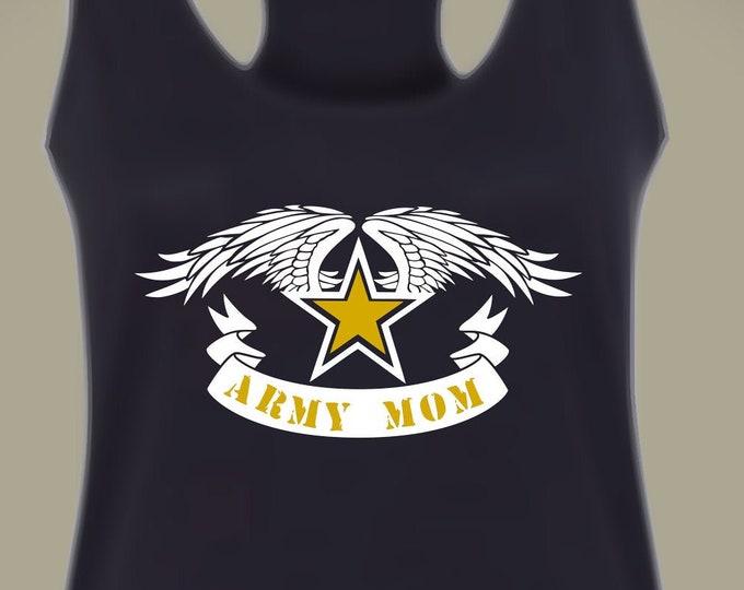 Army Mom Tank Top | Army shirt | Military shirt | Army Mom shirt | Deployment shirt