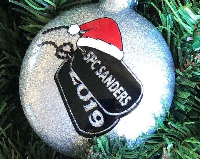 Christmas Ornament | Deployment Ornament | Army Ornament | Marine Ornament | Navy | Air Force