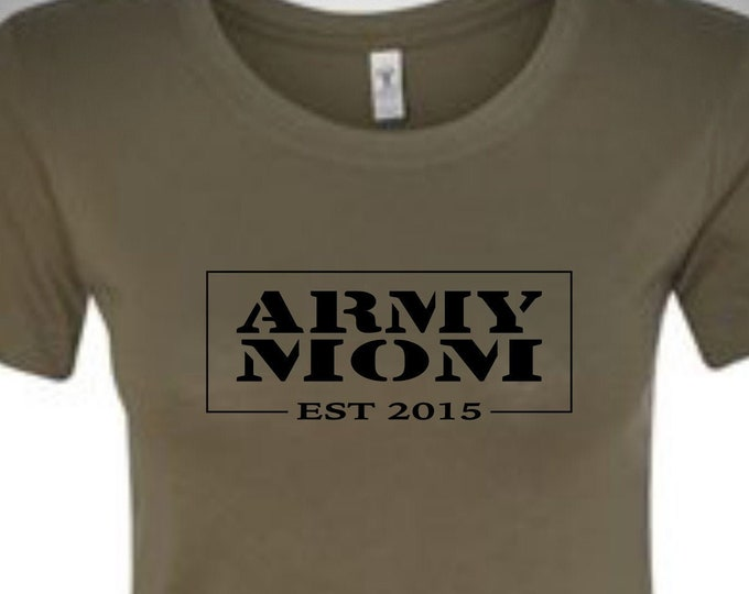 Army Mom shirt | Customize | Military shirt | Marine shirt | Navy shirt | Deployment shirt | Air Force shirt