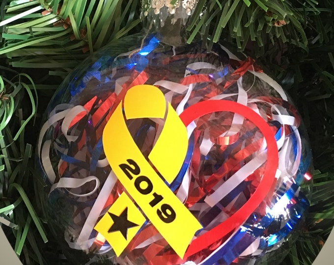 Christmas Ornament | Army Ornament Deployment Ornament | Navy | Marines Air Force | Military
