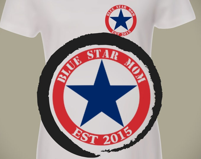 Blue Star Mom shirt | Military mom | Air Force mom shirt | Navy shirt | Marine shirt | Army shirt | Army Mom shirt