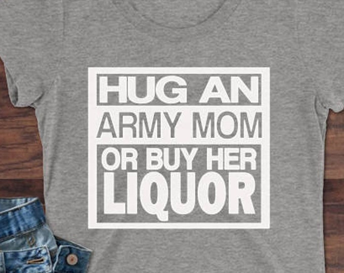 Army Mom shirt | Military shirt | Army shirt | Deployment shirt | Marine shirt | Navy shirt | Air Force shirt