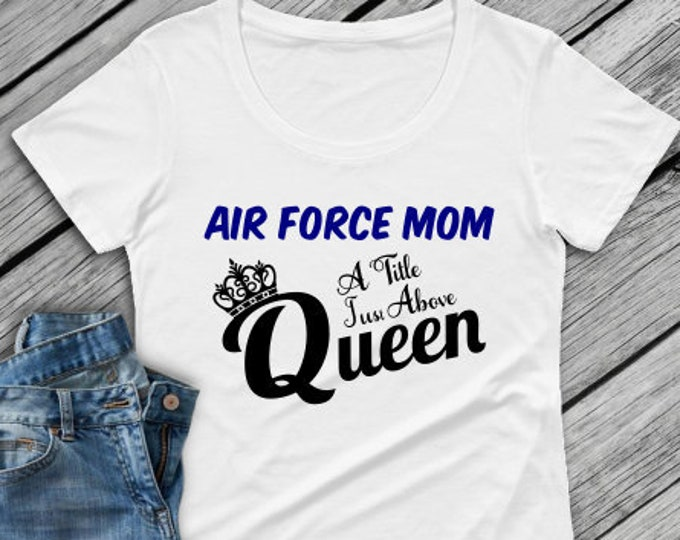 Air Force Mom shirt | Military shirt | Air Force | Deployment | RED Friday shirt Marine shirt | Navy shirt | Air Force