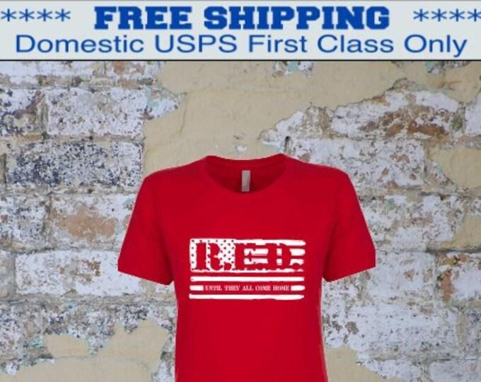 RED Friday shirt | Deployment shirt | Army shirt | Marine shirt | Navy shirt | Air Force shirt | Military shirt