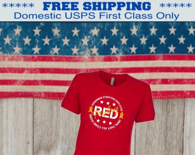 RED Friday shirt | Deployment shirt Army Mom shirt | Marine shirt | Air Force shirt | Navy shirt | Military shirt